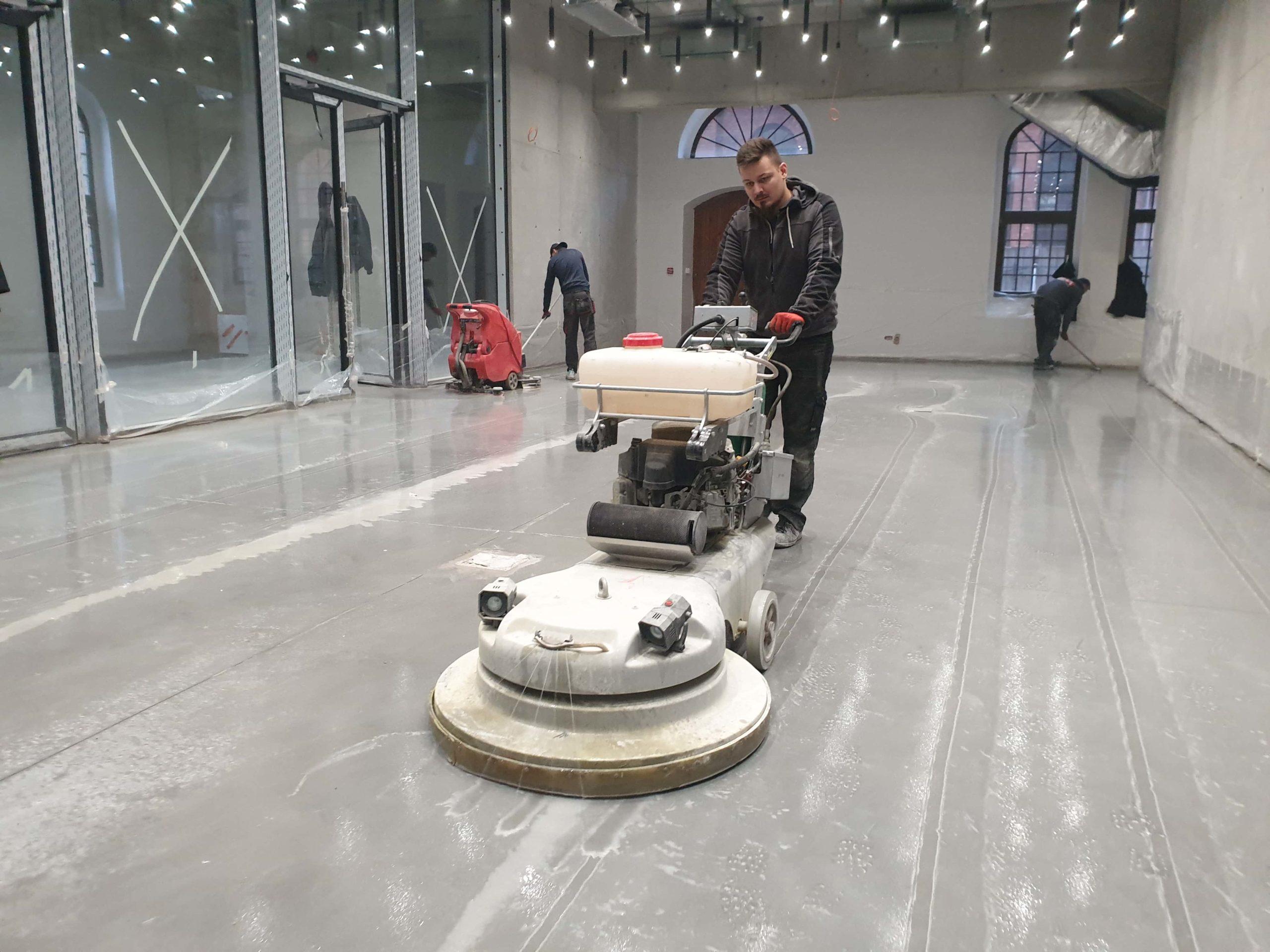 szlifowanie posadzek betonowych BM Floor3