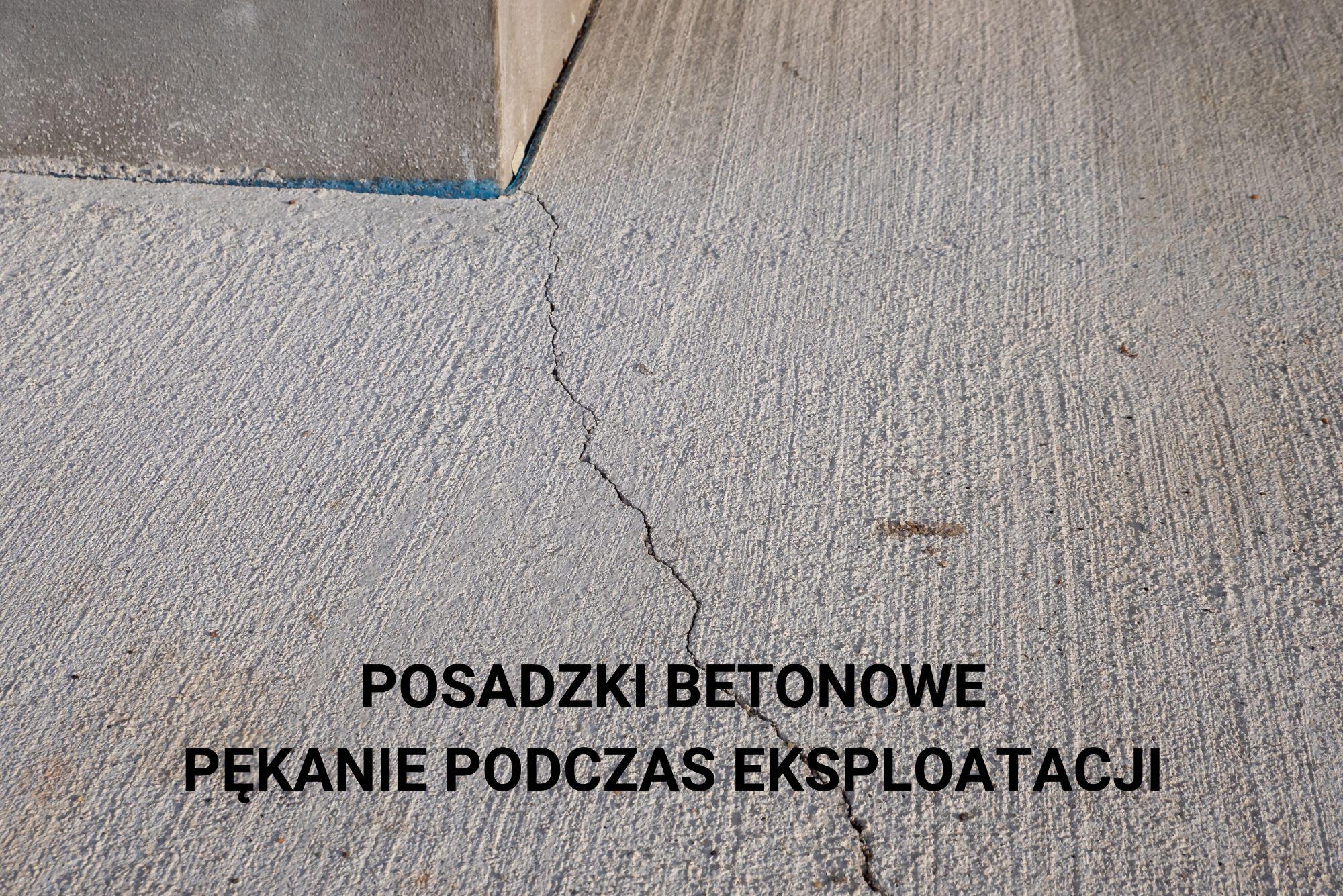 Posadzki betonowe przyczyny pękania