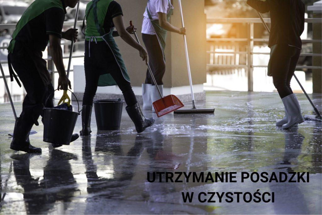Szifowanie betonu - utrzymanie czystości