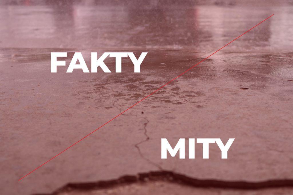 Renowacja posadzek betonowych - FAKTY i MITY